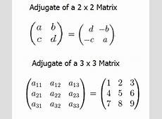 Matrices and Matrix Algebra - Statistics How To C- 4x4 Matrix Inverse