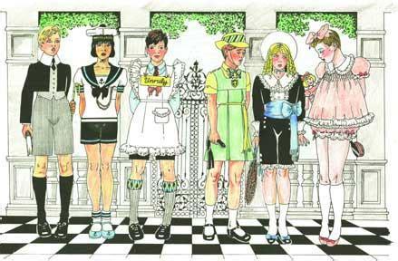 barbara jean petticoat punishment art petticoat discipline art quarterly search results