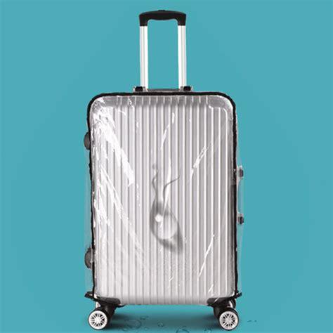 Cover Untuk Koper 28 Inch Murah cover koper transparan waterproof 28 inch transparent