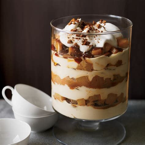 desserts winter caramel pear cheesecake trifle recipe grace parisi