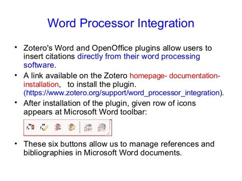 tutorial zotero word word processor plugin installation zotero tutorial