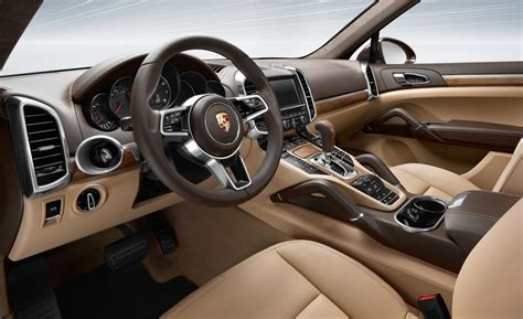 porsche cayenne 2016 interior car and driver