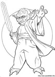 coloring pages wars free wars yoda coloring pages