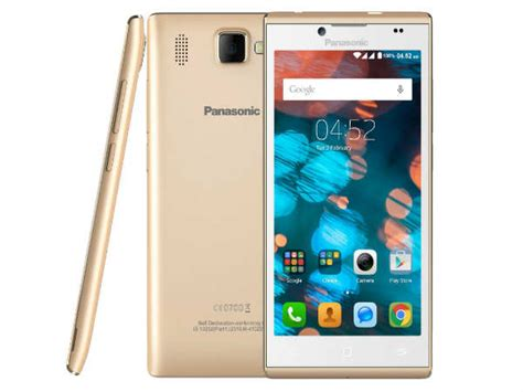 panasonic mobile india panasonic launches 4g enabled smartphone in india at rs