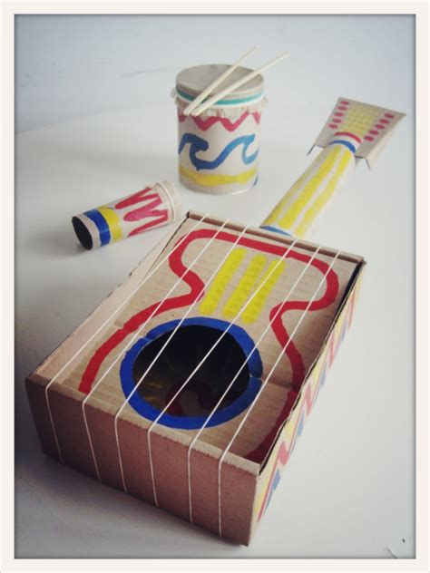 How To Make A Violin Out Of Paper - diy instruments design dazzle