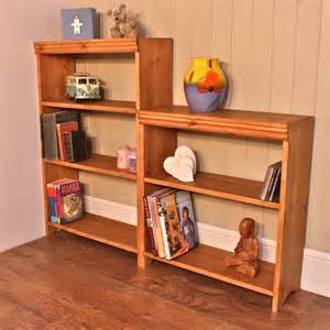 prefab bookshelves solid pine modular bookcases the shelf company