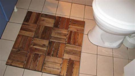 holzfliesen bad teppich im bad holzfliesen statt frottee frag mutti