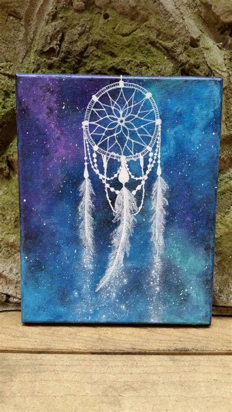 spray paint hippie dreamcatcher painting space hippie painting by