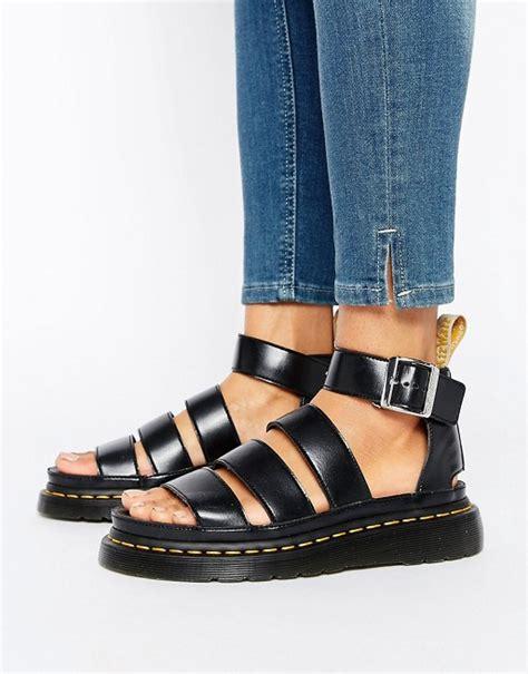 doc marten clarissa sandals dr martens dr martens clarissa vegan strappy flat sandals