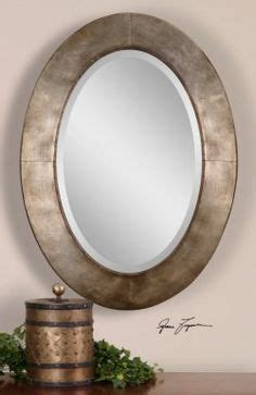 how to frame an oval bathroom mirror 1000 images about beautiful oval mirrors on pinterest