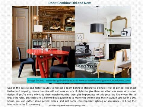 interior design rules 5 interior design rules you can break