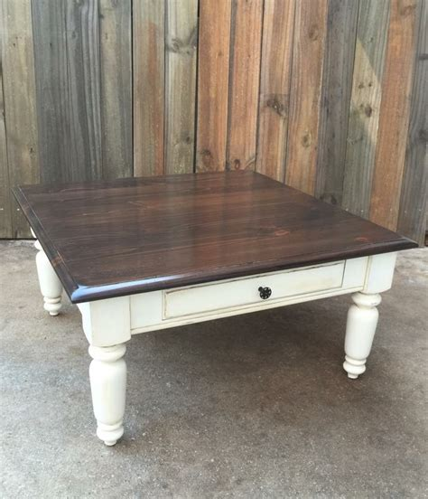 rustic chic coffee table rustic distressed shabby chic farmhouse coffee table