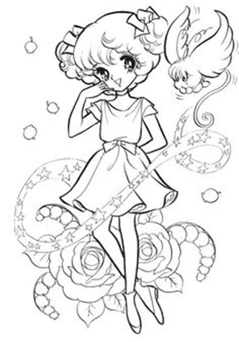 vintage japanese coloring book 9 shoujo coloring for manga coloring 1000 images about دفاتر التلوين القديمة on pinterest