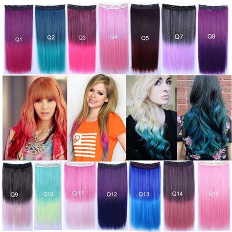 Hair Clip Hairclip Hair Klip Lurus 60 65cm buy grosir rainbow ekstensi rambut klip from china rainbow ekstensi rambut klip penjual