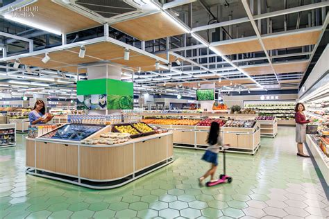 Coastal Home Floor Plans Latitude Studio Designs Beijing S First Organic Supermarket