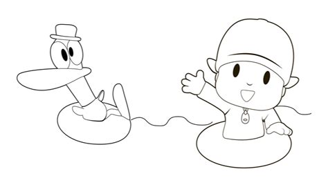 imagenes animadas para colorear pocoyo p 225 ginas para colorear best coloring pages for kids