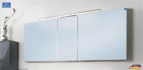 badezimmer spiegelschrank 150 cm breit marlin cosmo spiegelschrank mit led aufsatzleuchte 150 cm