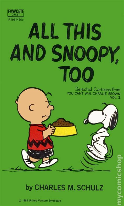 peanuts every sunday 1971 1975 books all this and snoopy pb 1962 fawcett crest book a