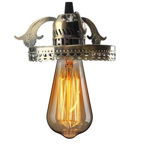 Vintage Light Bulb Pendant Antique Industrial Vintage Ceiling Pendant Light L Bulb Chandelier Fixture For Indoor Lighting