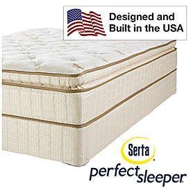 Serta Sleeper Hton Bay Pillowtop Mattress by Serta 174 Sleeper 174 Hamilton Park Ultra Premium