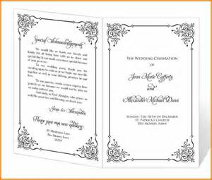 program templates wedding ebook database