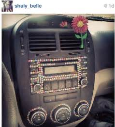 bedazzled car interior this creative idea repinned by
