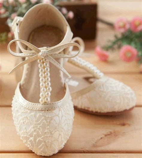 Handmade Wedding Shoes Uk - handmade pink lace flower shoes ivory flat pearl