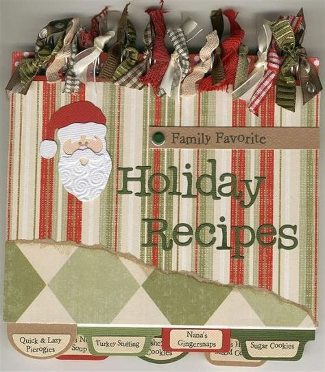 Recipe Card Gift Ideas - 13 best images about recipe book ideas on pinterest mini books gift card holders