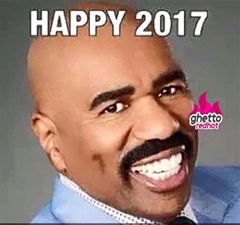 New Funny Memes 2016 - happy 2017 ghetto red hot