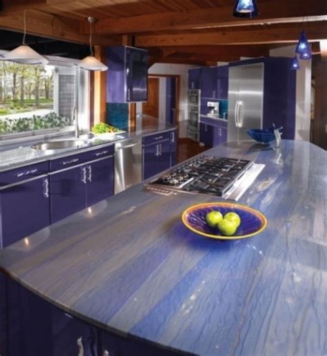 Unique Kitchen Countertop Ideas 30 Unique Kitchen Countertops Of Different Materials Digsdigs Design