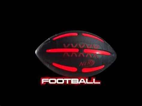 nerf light up football tv commercial nerf vision sports football light