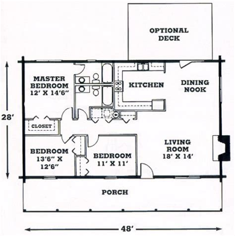 single story cabin floor plans single story log home plans find house plans