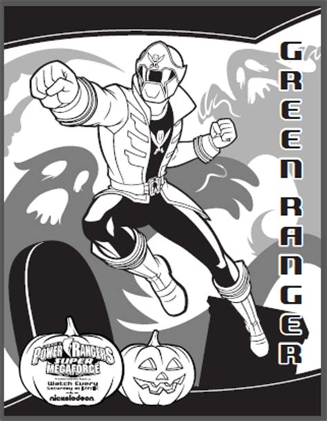 power rangers halloween coloring pages super megaforce power rangers costumes activities halloween