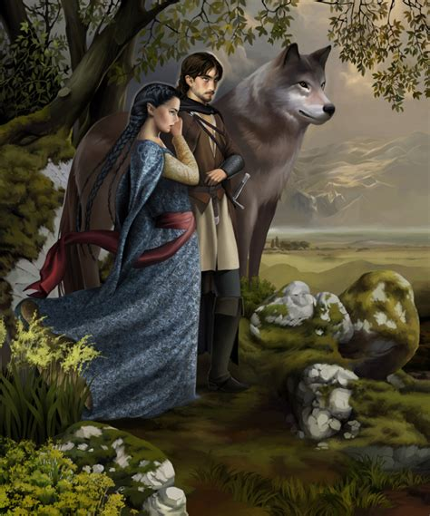 beren and lthien beren luthien and huan by steamey on
