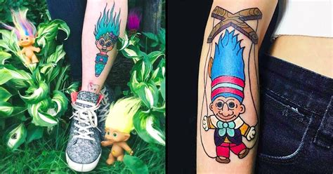 90s baby tattoo vintage troll doll tattoos for every 90s kid tattoodo