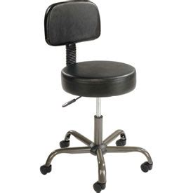 Stool With Backrest by Stools Vinyl Upholstered Antimicrobial Stool