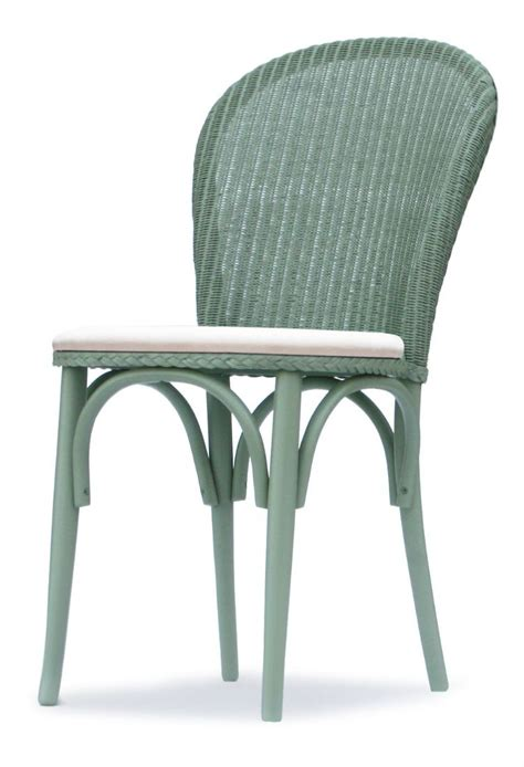 Lloyd Loom Dining Chairs Lloyd Loom Bistro Dining Chair W Upholstered Seat Dining Chairs Hunters Of Derby