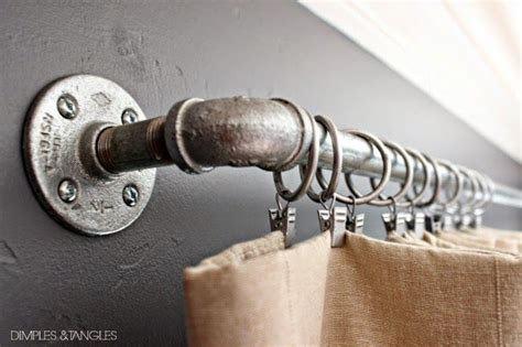 alternative curtain rods for an inexpensive diy curtain rod alternative consider