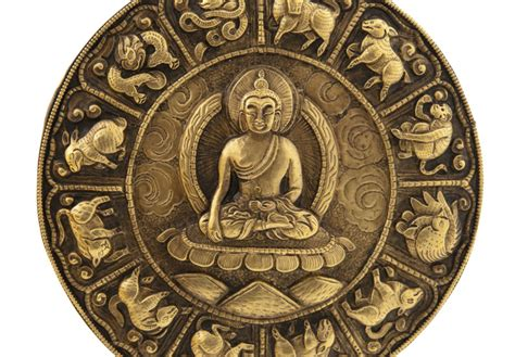 Calendrier Bouddhiste Mandala Tibetain Decoration Murale Pour Autel Bouddhiste