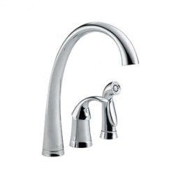 6 Inch Center Kitchen Faucet by Delta 4380 Kitchen Faucet 1 8 Gpm 6 Inch Center 10 1 2