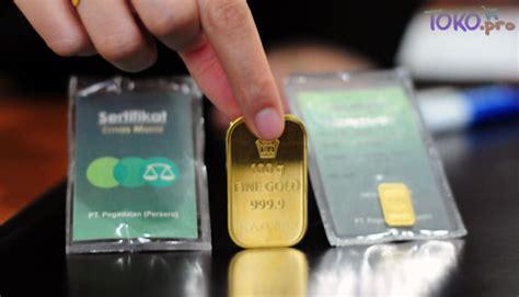 Beli Emas Pegadaian biaya administrasi dan transaksi tabungan emas di