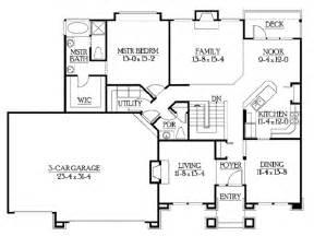 classic rambler floor plans by builderhouseplans homes
