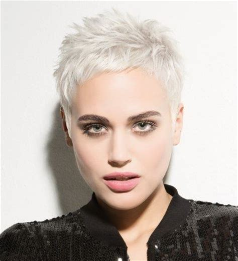 platinum pixie haircut for 42 year old 68 best kapsels kort haar images on pinterest pixie cuts