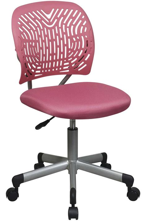 kids pink desk chair pink computer chair for girls