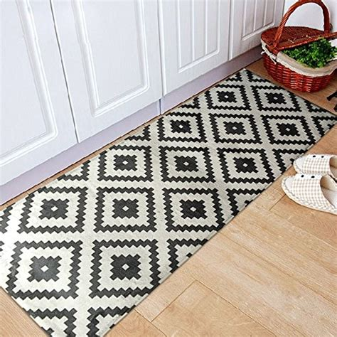 White Kitchen Rugs Cheap Price On The Black And White Kitchen Rug Comparison Price On The Black And White