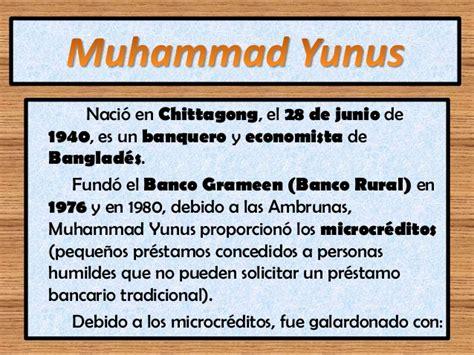 Banco Grameen by Muhammad Yunus Grameen Bank
