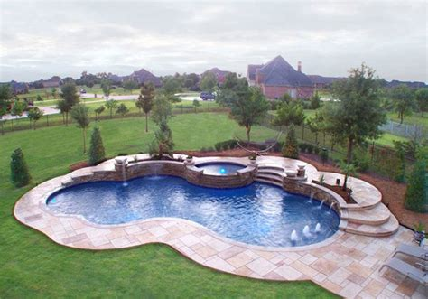 free form pool 15 remarkable free form pool designs home design lover