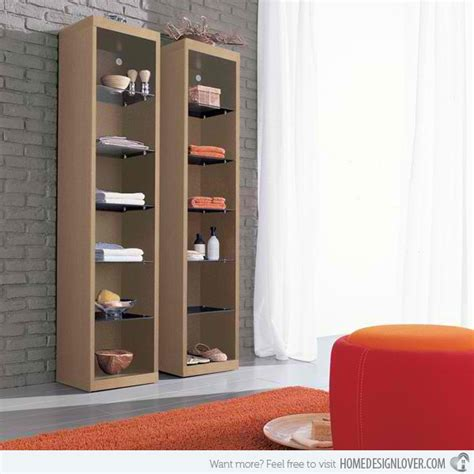 contemporary bathroom storage cabinets 15 modern and contemporary cabinets ideas