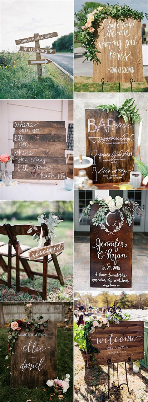 Great Wedding Ideas by 22 Great Wedding Sign Ideas To Inspire Your Big Day Oh