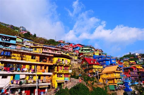 colorful houses rainbow land colorful houses in la benguet